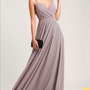 NWT lulus all about love maxi dress